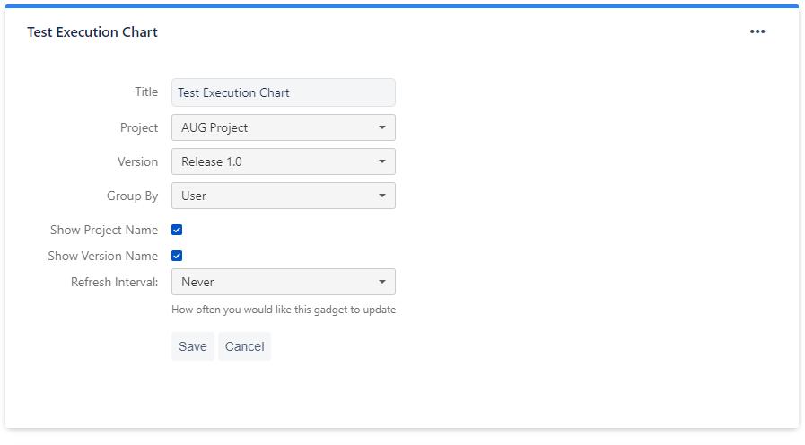 test excution configure.PNG