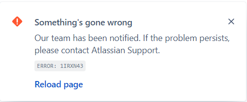 JIRA Google Chat integration error.png