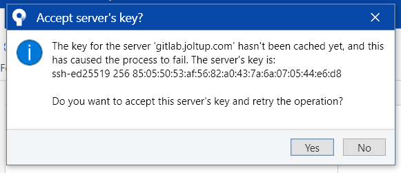 SourceTree 3.3.9 Windows 10 pop-up gitlab joltup key not cached new repo.PNG