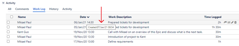 WorkLog Pro - Created date.png