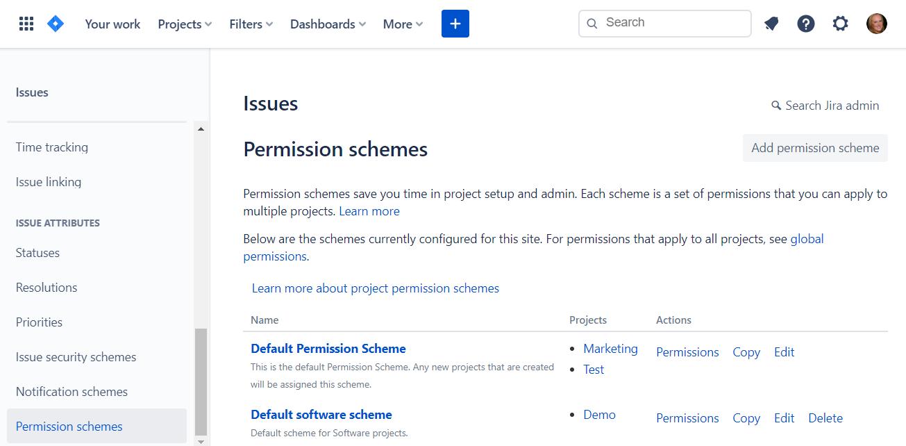 permission-schemes