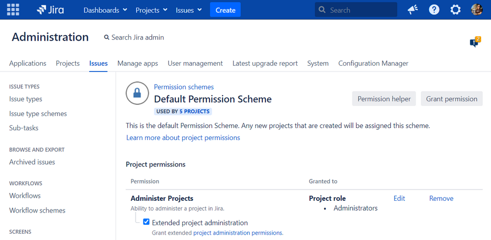 extended-project-administration