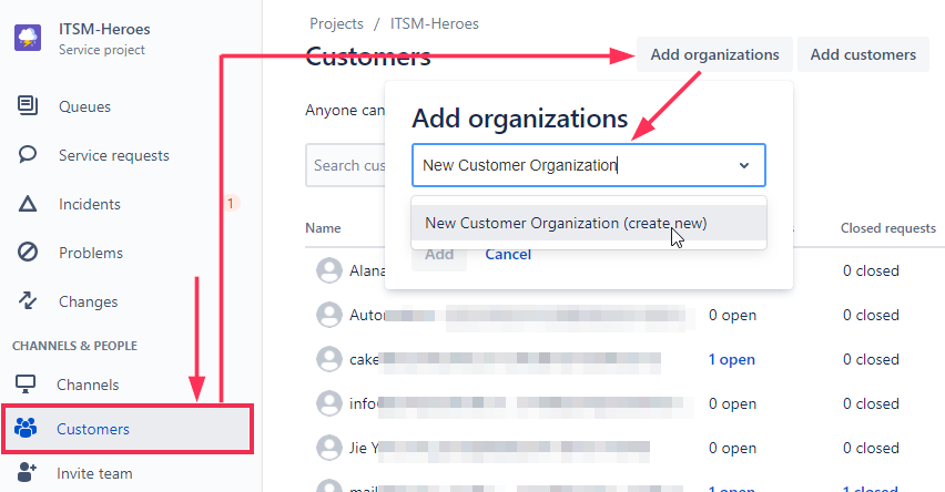 problem-service-queue-duplicate-ticket-from-email-add-an-organization.png