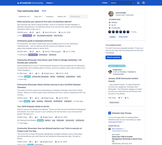 Atlassian Community member homepage.png