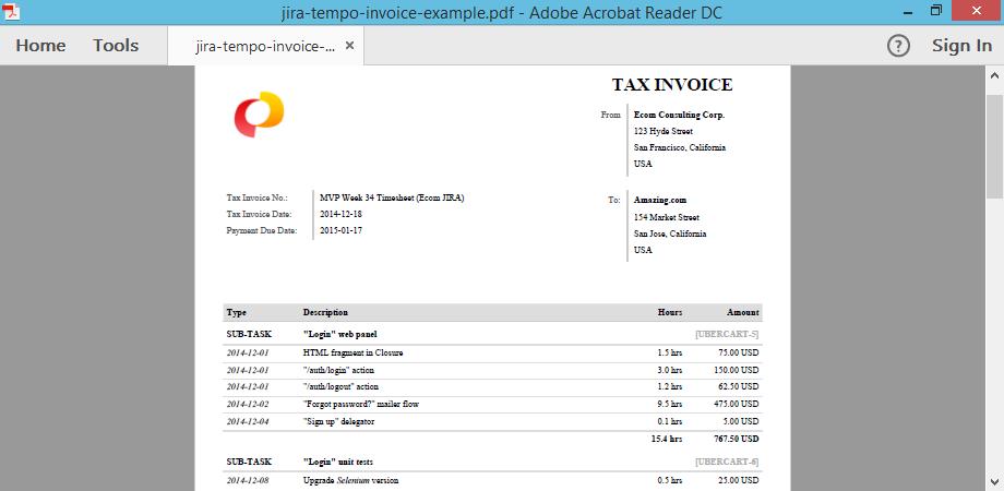 jira-tempo-invoice-example