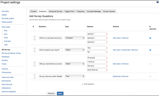 Easily customize survey questions with surveys for service desk.png