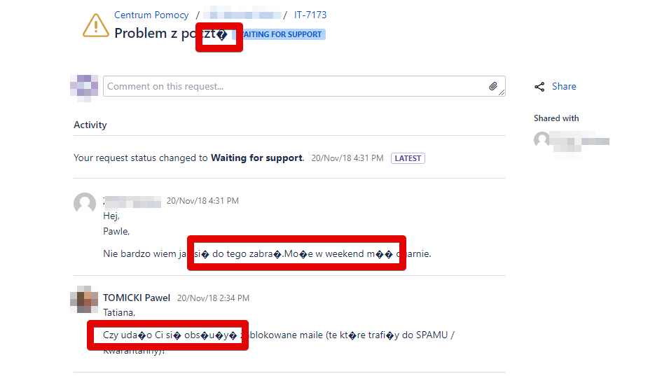 Service Desk issue wich polish characters.png