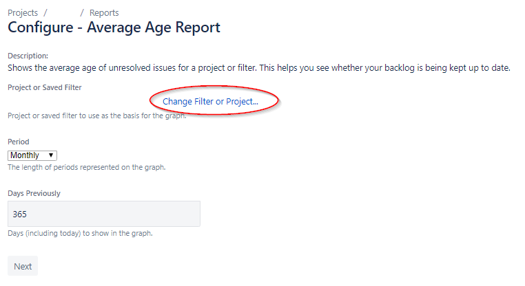 Jira - Configure - Average Age Report.png