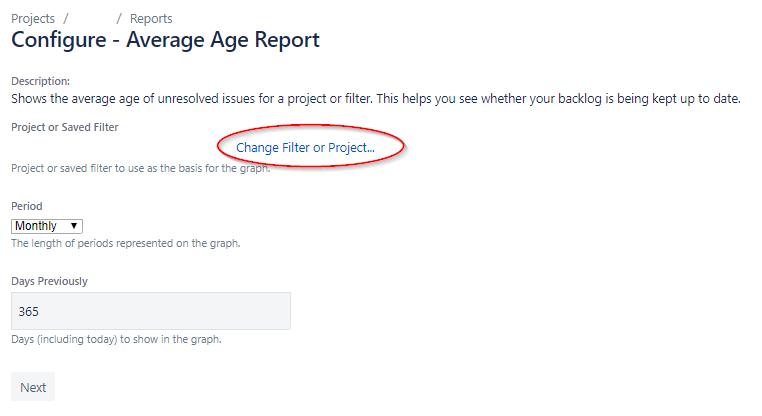 Jira - Configure - Average Age Report.png