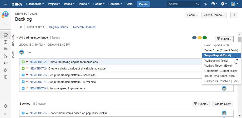 jira-agile-backlog-xls-export
