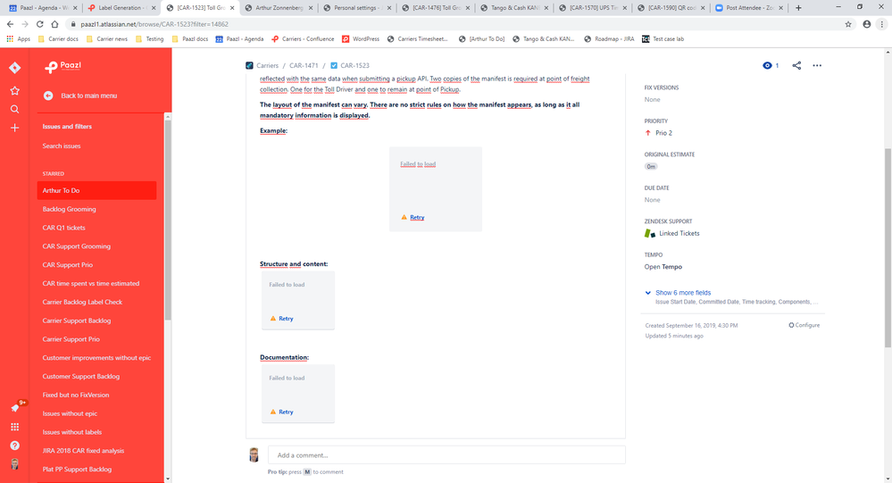 old issues broken in new issue view JIRA.png