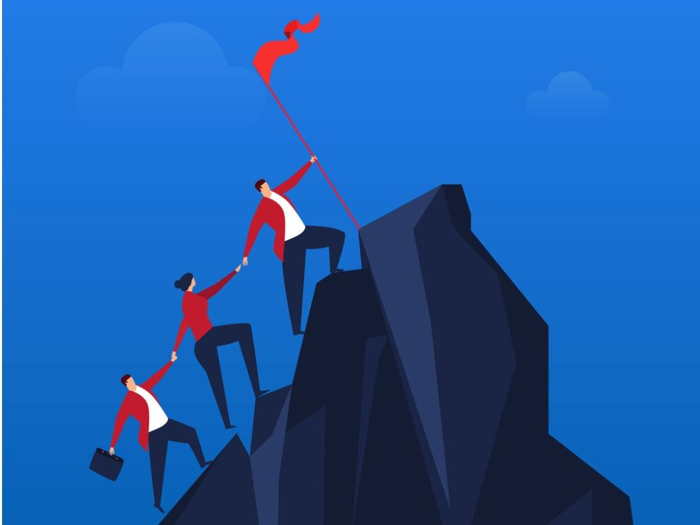 team-effort-to-climb-to-the-top-vector-id1049816324.jpg