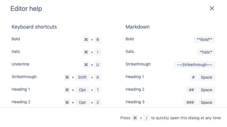 New Keyboard Shortcuts - Confluence.png
