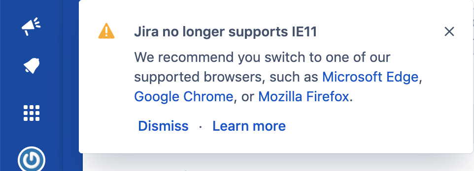 Retiring Ie11 Support For Atlassian Cloud Server And Data Center Products