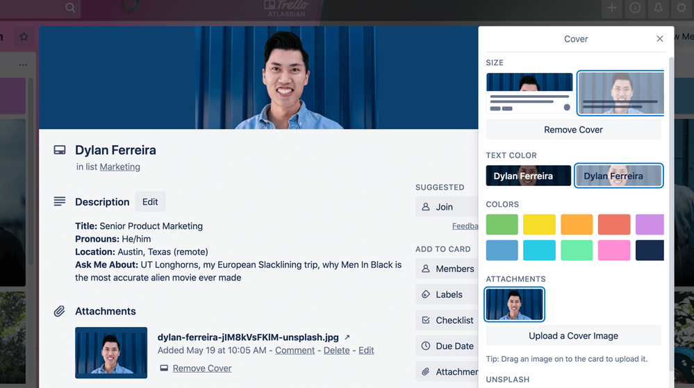 introducing card colors and full covers on trello