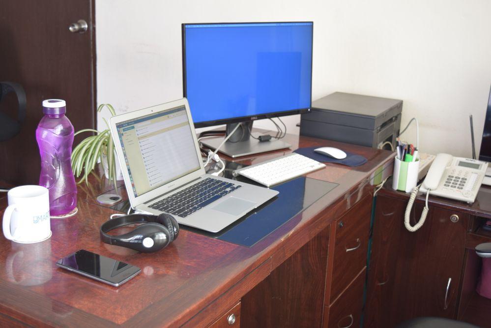 Ashish's Desk.JPG