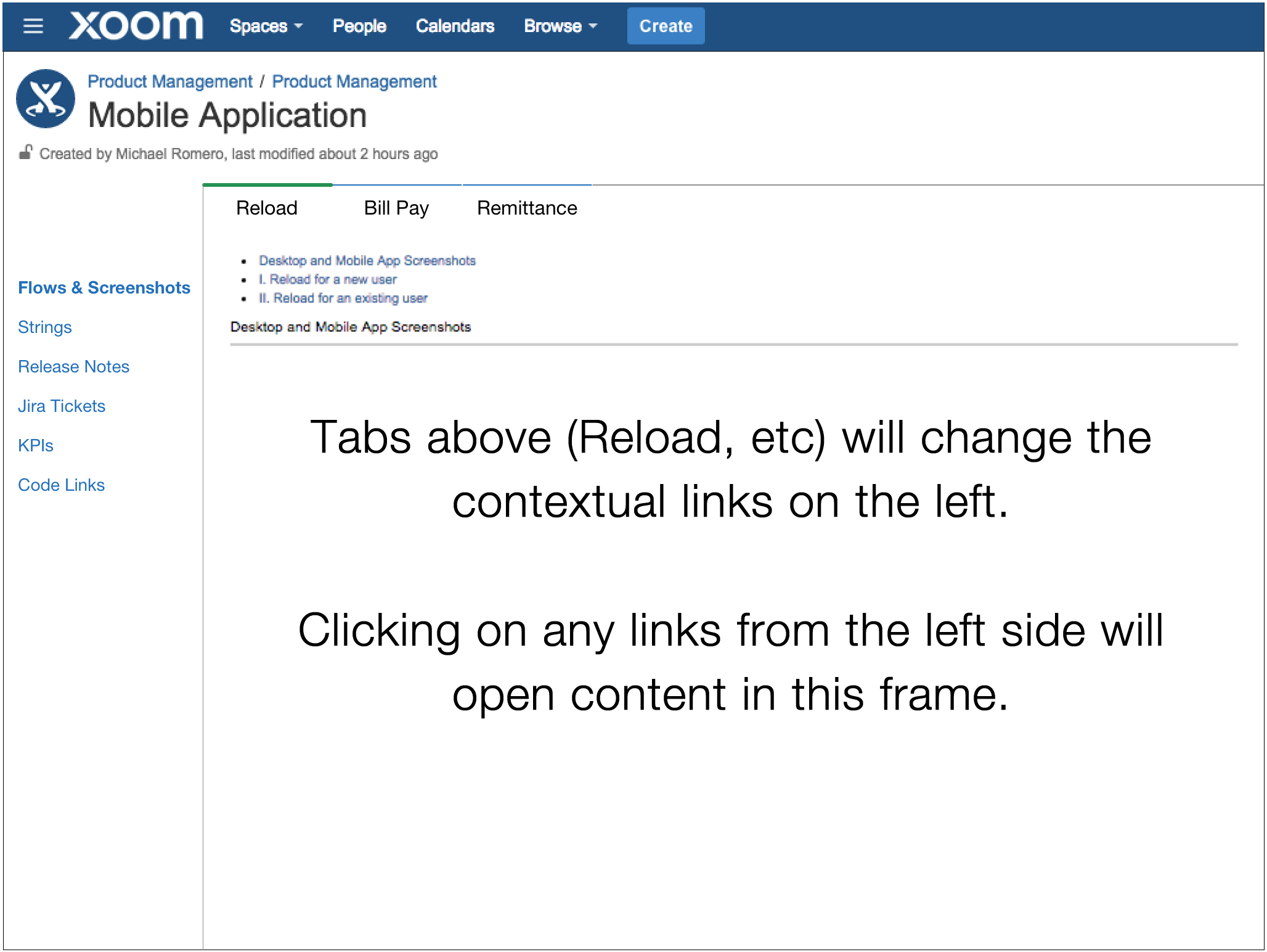 Creating Tabs And Frames In Confluence