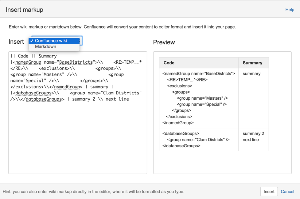 Render Markdown In Confluence