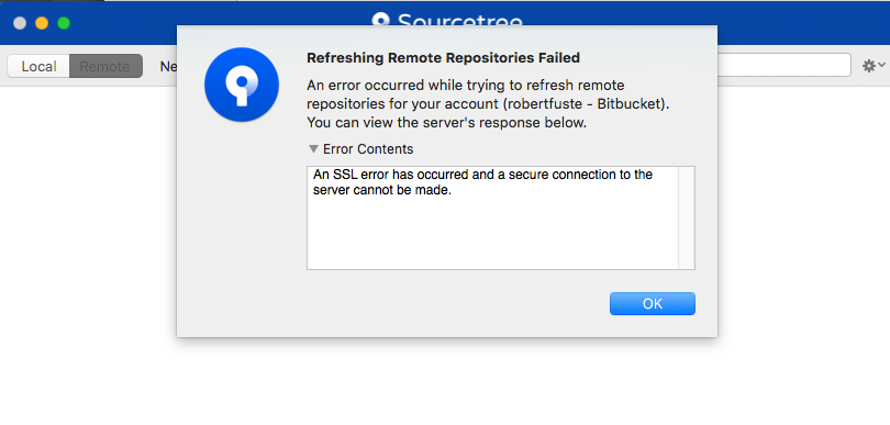 Solved: How do I solve authentication issues with SourceTr