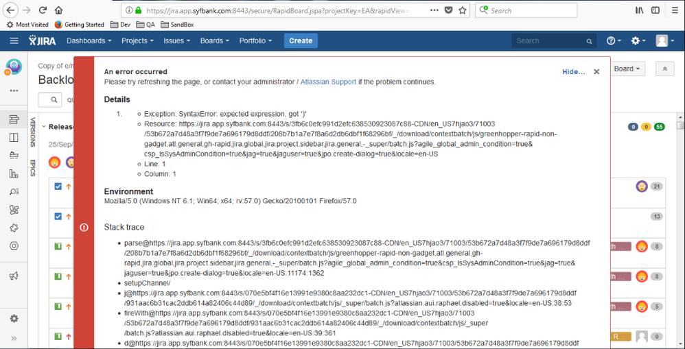 JIRA Error in Mozilla.PNG