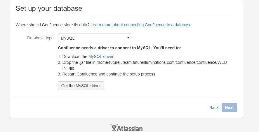 Installing Confluence with MySQL Issues