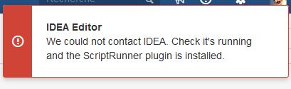 Solved: IntelliJ Scriptrunner integration