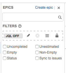 Solved: Filtering EPICS in Agile Board