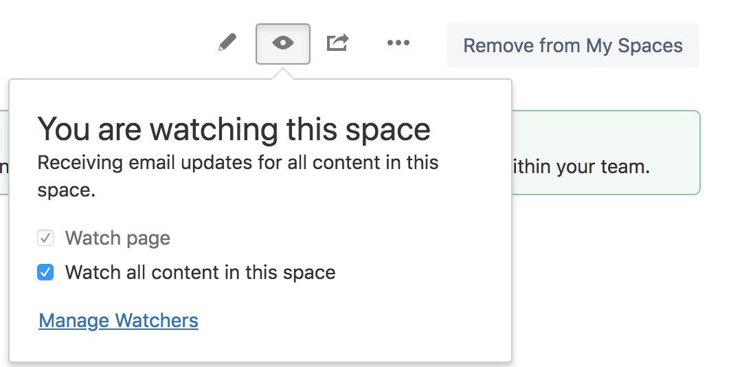 Can I see who is watching my space or page?