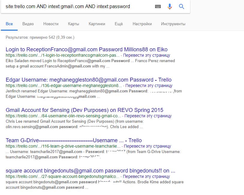 google indexing public boards