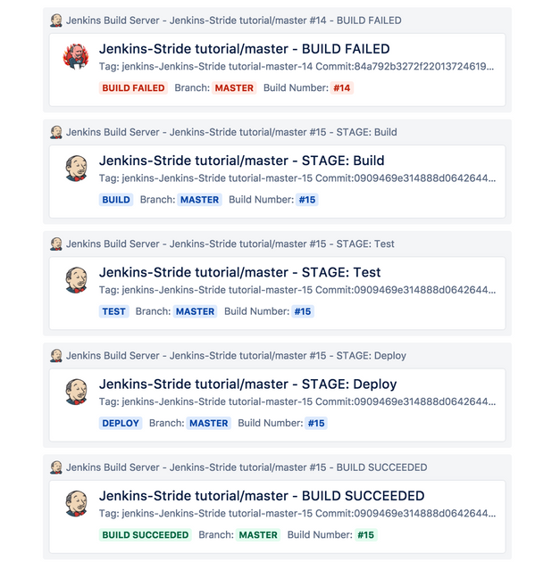 How to Receive Jenkins Build Notifications in Stride