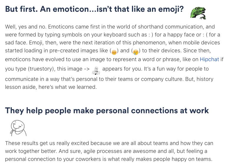 how do you make emoticons bigger?