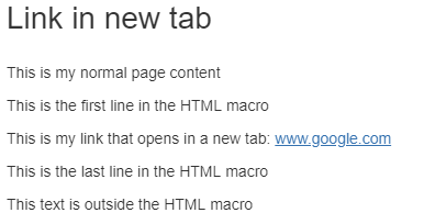 Solved: Confluence hyperlink which open a new tab or a new