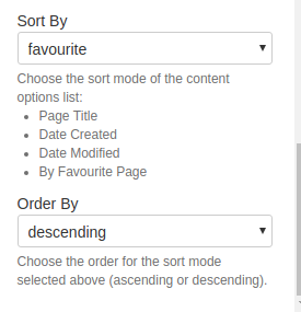 Solved: How to sort Servicerocket Scaffolding content-opti
