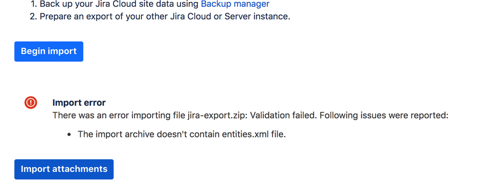 Migrating from local JIRA Server to JIRA Cloud - h