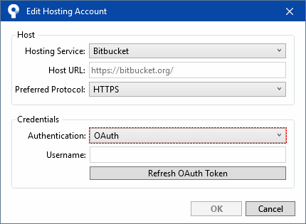 Solved: Cannot login with Bitbucket in SourceTree after li