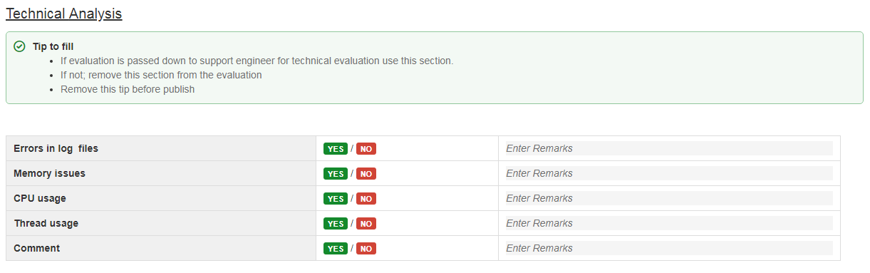 Technical Evaluation | Add On Evaluation With Confluence Templates