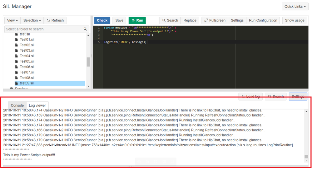 easily check logs for quicker debugging with Power Scripts new log viewer.png
