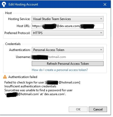 SourceTree 3: Connecting to VSTS