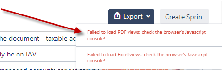 How can I export the entire product backlog into a