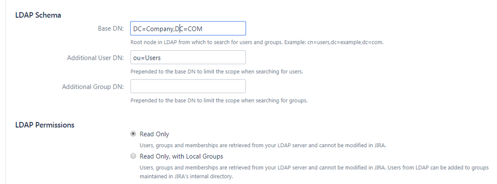 Solved: can be integrate specific LDAP users to Jira Core
