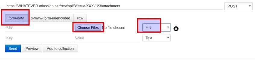 Add attachment using file content