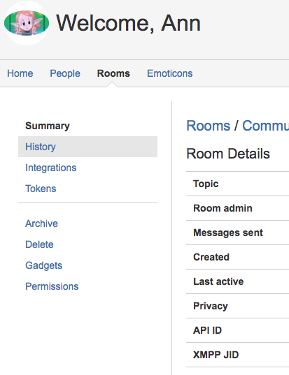 Solved I Can T Delete Any Hipchat Room Chat History