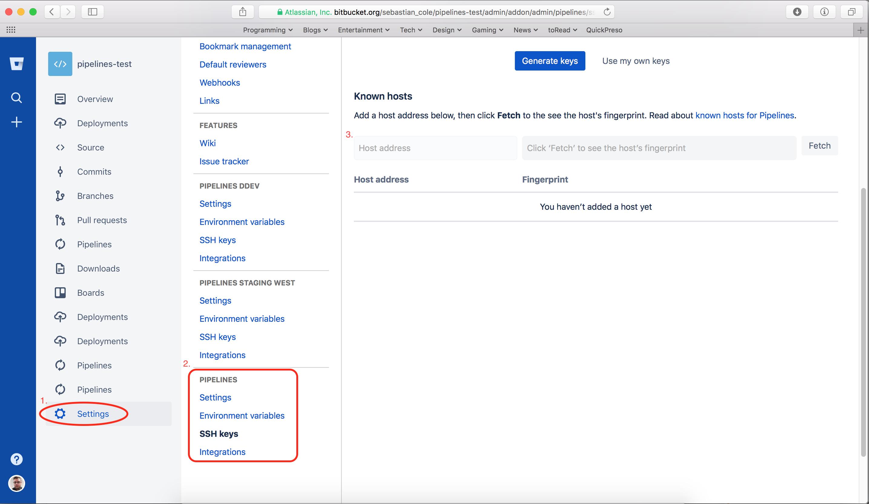 ssh-keygen add key to known_hosts